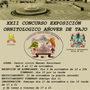 XXII Concurso exposición ornitológico de Añover de Tajo.