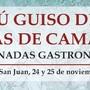 XIV Jornadas Gastronómicas (24 y 25 noviembre)
