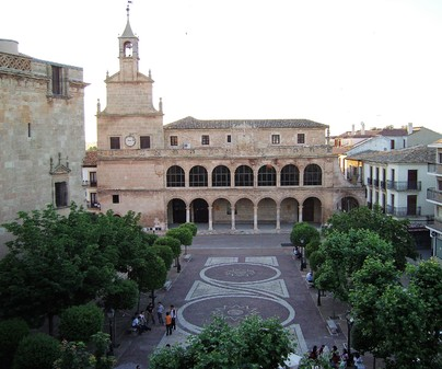 Fachada Museo de Obra Gráfica de San Clemente