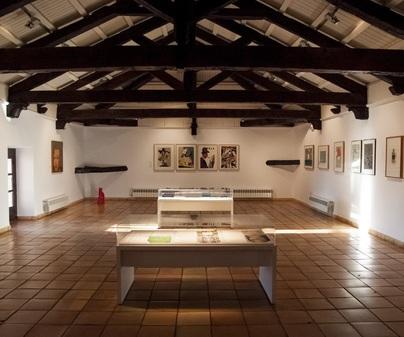 Museo de Obra Gráfica de San Clemente  -Fotografía: Artetinta-