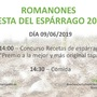 FIESTA DE LOS ESPÁRRAGOS 2019