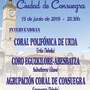 """XIII Encuentro Coral """"Ciudad de Consuegra"""" 2019"""
