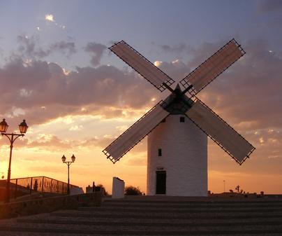 """Molino de viento """"La Unión"""" - Camuñas"""
