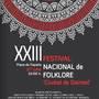 "XXIII Festival Nacional de Folklore ""Ciudad de Daimiel"""
