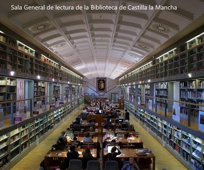 Biblioteca CLM Sala General Lectura