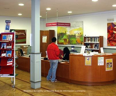 Area de información y préstamo BCLM