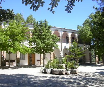 Interior Santuario Virgen de Cortes