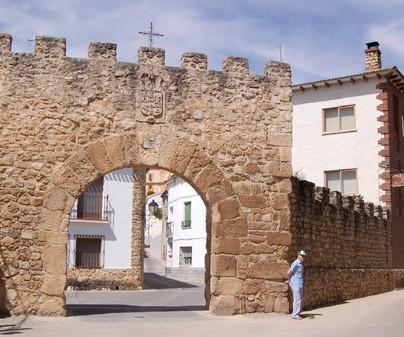 Uclés. Puerta del Agua.