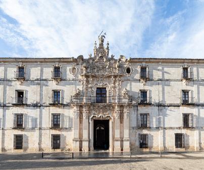 Monasterio de Uclés. Fachada sur.