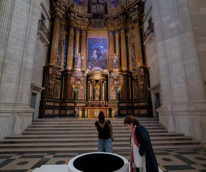 Monasterio de Uclés. Retablo Iglesia.