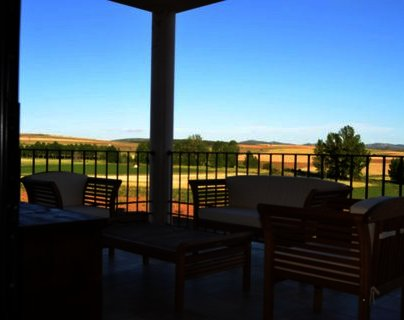 Porche Casa Rural La Dueña