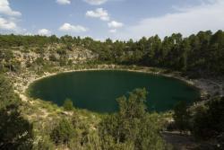 Laguna de Cañada del Hoyo.Serranía de Cuenca