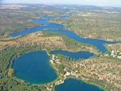 Parque Natural de las Lagunas de Ruidera en Ossa de Montiel