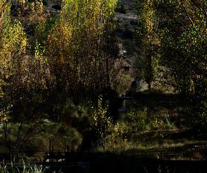 BAIDES (Güadalajara). Los ríos Dulce y Henares se juntan en Baides.