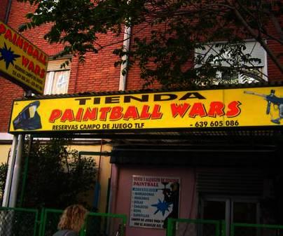 Paintballwars - Tienda