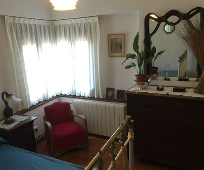Dormitorio Casa Rural Casa Dolly Baby en Alarcón