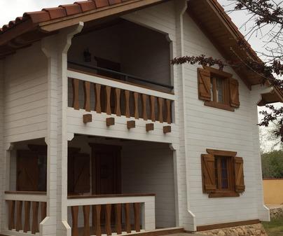 Cabañar Casas rurales  fachada