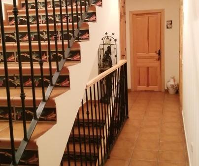El Encanto de Palomera escalera