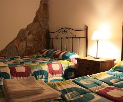 Casa rural El Escaleron dormitorio 1