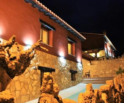 Casa rural El Escaleron fachada 3
