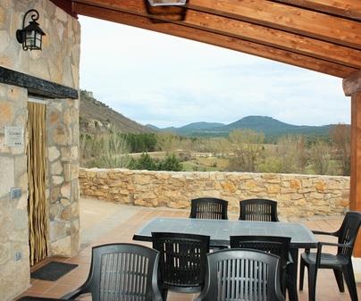 Casa rural El Escaleron terraza