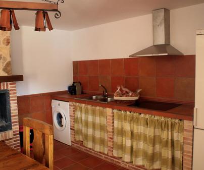 Casa rural Las Cuevas cocina