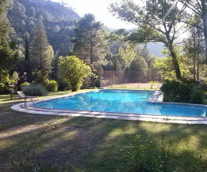 La Cabaña piscina