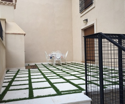 Casa rural de Mira patio