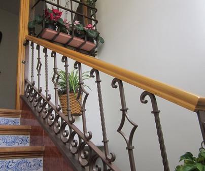 Escalera Casa Rural Casa Reyes de Villalba de la Sierra