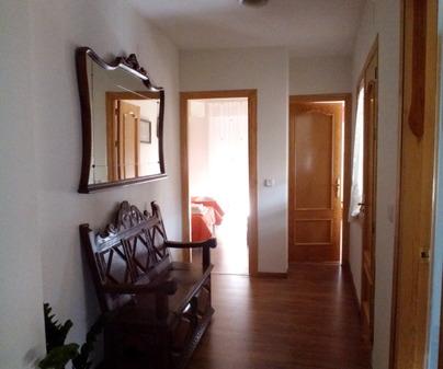 Pasillo Casa Reyes en Villalba de la Sierra