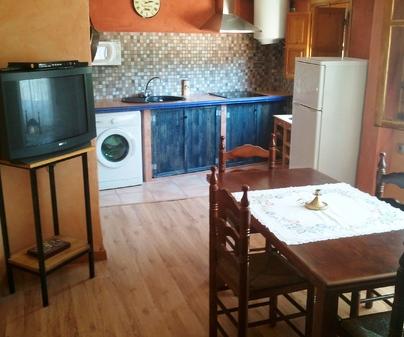Cocina Casa Rural Valle del Cabriel en Enguindanos