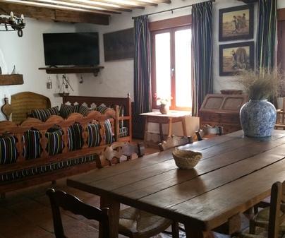 Salón Casa Rural El Arriero los Hinojosos