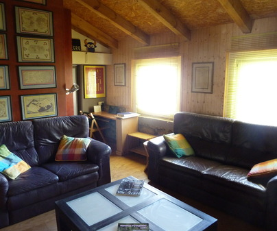 Salón Casa Rural El Refugio en Vega del Codorno
