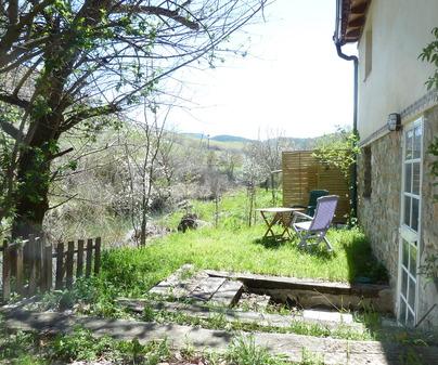 Patio Casa Rural El Refugio en Vega del Codorno