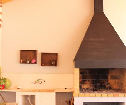 Casa rural Casa Blasa barbacoa