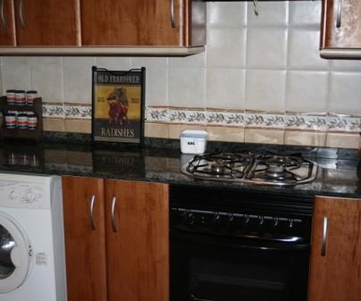 cocina casa rural El Valle