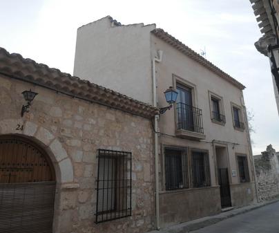 Fachada Casa Rural La Molinera en Alarcón