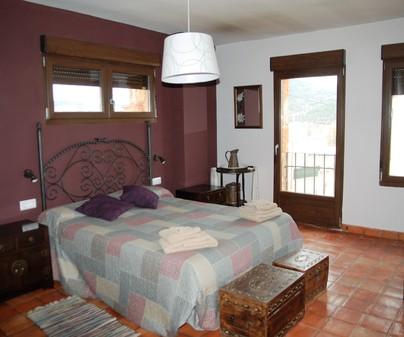 Habitación Casa Rural El Ventano en Villalba de la Sierra