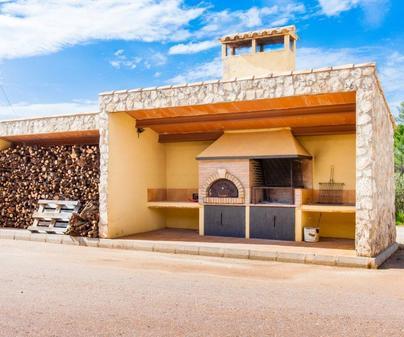 Casa rural Ermita, barbacoa