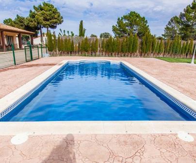 Casa rural Quiteria, piscina