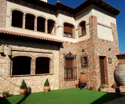 Casa rural San Cristobal, patio interior