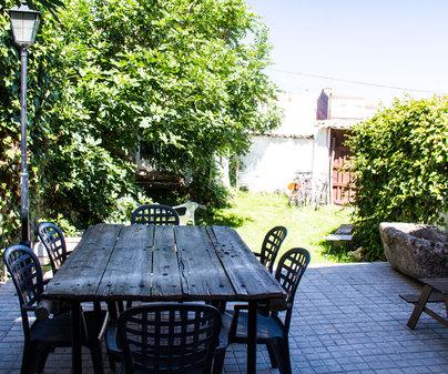 Casa rural La Alcarria, patio