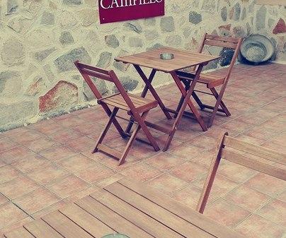 Posada de Campillo terraza