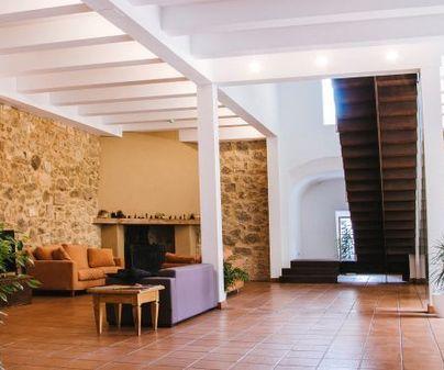 Casa rural Albacara salón