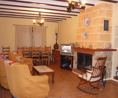 Casa Rural El Callejón, en Casas del Cerro (Alcalá del Júcar, Albacete)