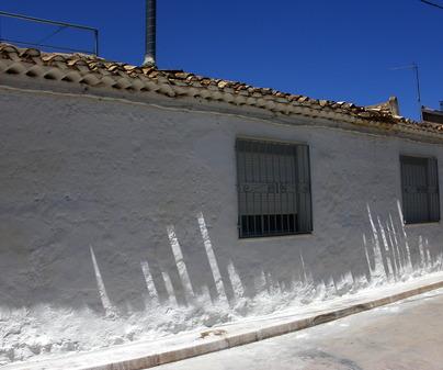 Casa Rural La Noria, en El Picazo (Cuenca). Fachada