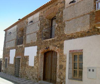 Casa Rural Hidalgo, en Corral de Calatrava (Ciudad Real). Fachada