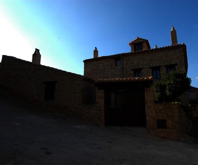 Fachada. Casa Rural La Carrasca Alta. Palazuelos (Guadalajara)