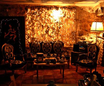 Salita de té. Casa rural La Quinta de Malú. Las Valeras (Cuenca)