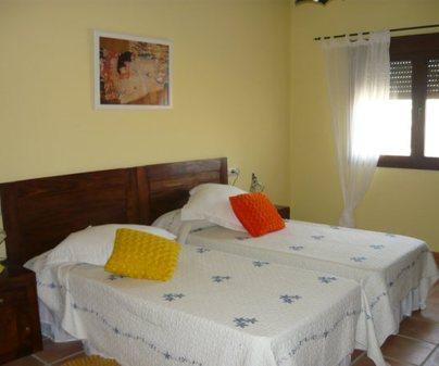 Habitacion Amarilla de la Casa Rural - La Marquesa del Candalar